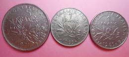 Pièce De Monnaie Française 5 Francs Et 1 Franc - Altri