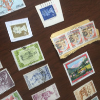 ITALIA BOCCACCIO VERDE 1 VALORE - Stamps