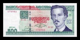 Cuba 500 Pesos Commemorative 500th Anniversary Of Founding Of Havanna 2019 Pick New SC UNC - Cuba