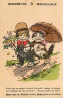 Germaine BOURET * Illustrateur * Baromètre Miraculeux * Chats Humanisés * Chat Cat Cats Katze - Bouret, Germaine