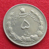 Iran 5 Rials 1963 / 1342 KM# 1175a Lt 719  Irão Persia Persien Rial - Irán