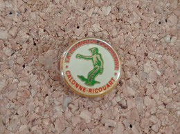 PINS PETANQUE OCCRIENNE CALONNE RICOUART (62) - Bocce