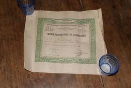 Diplome De Sténographie (Paris - 10e) 1936 - Diploma's En Schoolrapporten