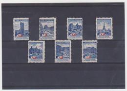 SERIE A DES MONUMENTS DE PARIS DE 1913 - Croix Rouge