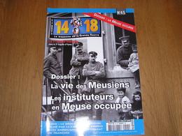 14 18 Le Magazine De La Grande Guerre N° 45 Occupation Allemande Meuse Occupée Ypres Ieper 1 è Armée Artisanat Tranchée - War 1914-18