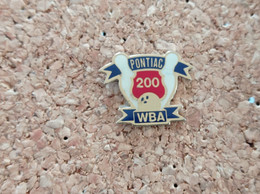 PINS BOWLING WBA 200 PONTIAC - Bowling