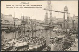 Marseille - Bassin De Carénage Et Pont Transbordeur - Voir 2 Scans - Joliette, Port Area