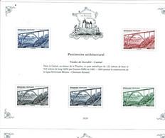 Patrimoine De France Timbres 2020 Bloc Viaduc Garabit Cantal - Frankrijk