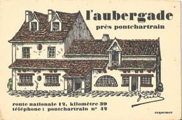 PONTCHARTRAIN (78-Yvelines)  L' Aubergade - Frankreich