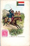 Poste Et Facteur - La Poste Au Transwaal. - Représentation Timbre - Afrique Du Sud