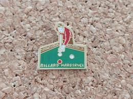 PINS BILLARD MARESRUEL (62) - Billiards