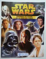 LIVRET  COLLECTION ATLAS FIGURINES STAR WARS 2005 - Episode I