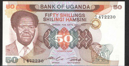UGANDA  50  1985  UNC - Uganda