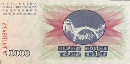 Bosnia 1.000 Dinara, P-15 (1.7.1992) - UNC - Bosnia Erzegovina
