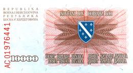 Bosnia 10.000 Dinara, P-17a (25.1.1993) - UNC - Bosnia Erzegovina