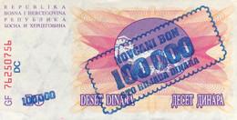Bosnia 100.000 Dinara, P-34b (10.11.1993) - UNC - Bosnia Erzegovina