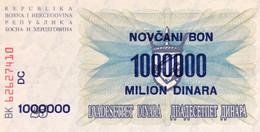 Bosnia 1.000.000 Dinara, P-35 (10.11.1993) - UNC - Bosnia Erzegovina