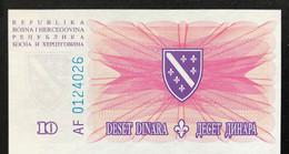 Bosnia 10 Dinara, P-41 (15.8.1994) - UNC - Bosnia Erzegovina