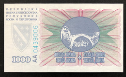 Bosnia 1.000 Dinara, P-46 (15.8.1994) - UNC - Bosnia Erzegovina