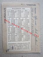Croatia, NDH, WW2 / FELDPOST NR. 59099/C With Calendar On The Back Side ( To Zemun 1944. ) / Description ... - Croatia