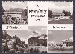 Deutsches Reich - 1933/45 - Obersalzberg Hitlerhaus Unf Göringhaus - Postkarte - Other