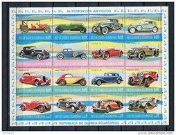 Guinea Ecuatorial 1977 Mi 1095-1110 ** MNH. - Equatorial Guinea