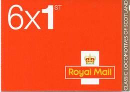 GREAT BRITAIN 2012 Classic Locomotives Of Scotland Booklet PM34 - Libretti
