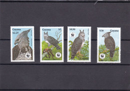 Guyana Nº 2152 Al 2155 - Guyana (1966-...)