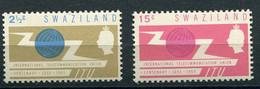 Swaziland = ESwatini (1965) - 100° Anniversario Dell'Unione Internazionale Delle Telecomunicazioni ** - Swaziland (1968-...)