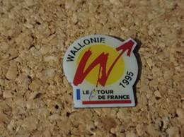 PINS CYCLISME VELO TOUR DE FRANCE WALLONIE 1995 - Ciclismo