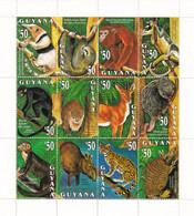 Guyana Nº 2881 Al 2892 - Guyana (1966-...)