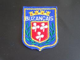 Blason écusson Tissu Feutrine Buzançais (Indre) Wappen Coat Arms Escudo Stemma - Patches