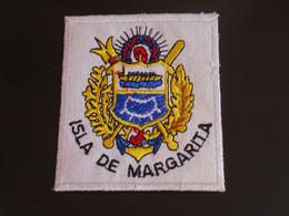 Blason écusson Tissu Feutrine Isla De Margarita (Venezuela)  Wappen Coat Arms Escudo Stemma - Patches