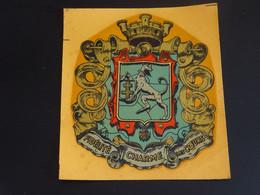 Blason écusson Décalcomanie Charmes (Vosges)  Wappen Coat Arms Escudo Stemma - Patches