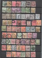 Lot Mit Alten Briefmarken Aus Asien , Viel Japan Und China - Stamps