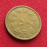 Iran 50 Dinars 1939 / 1318 KM# 1142 Lt 72  Irão Persia Persien Dinar - Irán