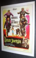 Carte Postale : Louis De Funes - La Gran Juerga (Bouvil) (affiche Film Cinéma) Illustration : Mexique - Posters On Cards