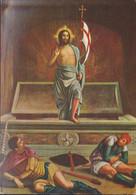Cartolina -  ANDREA MANTEGNA LA RESURREZIONE  .non Viaggiata.2 - Christianity