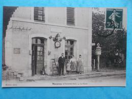 17 : MAZERAY : LA GARE , PHOTO De REPRODUCTION , Animée ,C P A , En Bon état - Other Municipalities