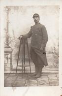 V9Sv  Carte Photo Militaire Soldat Marcel Perrin 33eme Regiment Mobilisation Départ Pour La Guerre De Sens (89) - Photographs