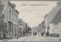 14 09/  38//   EKEREN    KLOOSTERSTRAAT    1912            MOOI BEELD !!!   ZEER VEEL VOLK - België