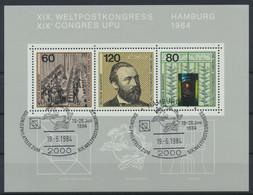 BRD 1984 / MiNr.   Block 19    O / Used  (s411) - Blocks & Kleinbögen