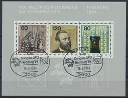 BRD 1984 / MiNr.   Block 19    O / Used  (s413) - Blocks & Kleinbögen