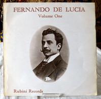 Fernando De Lucia / Vol.1 - Opera / Operette