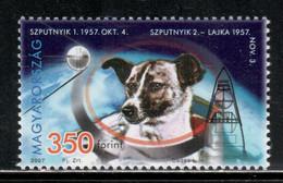 Hungary 2007 Mi# 5137 ** MNH - Space Dog Laika / Sputnik 1 - Raumfahrt