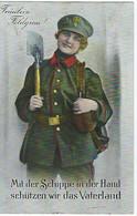 ALLEMAGNE - FELDPOST - MILITARIA - Fräulein Feldgrau - 1915 - Guerra 1914-18