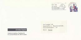 "Motiv Brief  ""St.Galler Tagblatt, St.Gallen""              1974 - Svizzera"