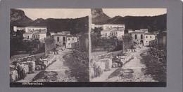 Taormina - Messina - Bellissima Fotografia Stereoscopica 1905 Circa - Stereo-Photographie