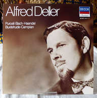 Alfred Deller : Purcell - Bach - Haendel -  Buxthehude - Campian - Opera / Operette