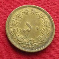 Iran 50 Dinars 1942 / 1321 KM# 1142 Lt 573  Irão Persia Persien Perse Dinar - Irán